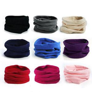 a96859b68 Details about Qu_ Polar Fleece Thermal Neck Warmer Gaiter Face Mask Snood  Hat Scarf Bandana Ey
