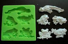 Silicone Mould FROGS Sugarcraft Cake Decorating Fondant / fimo mold