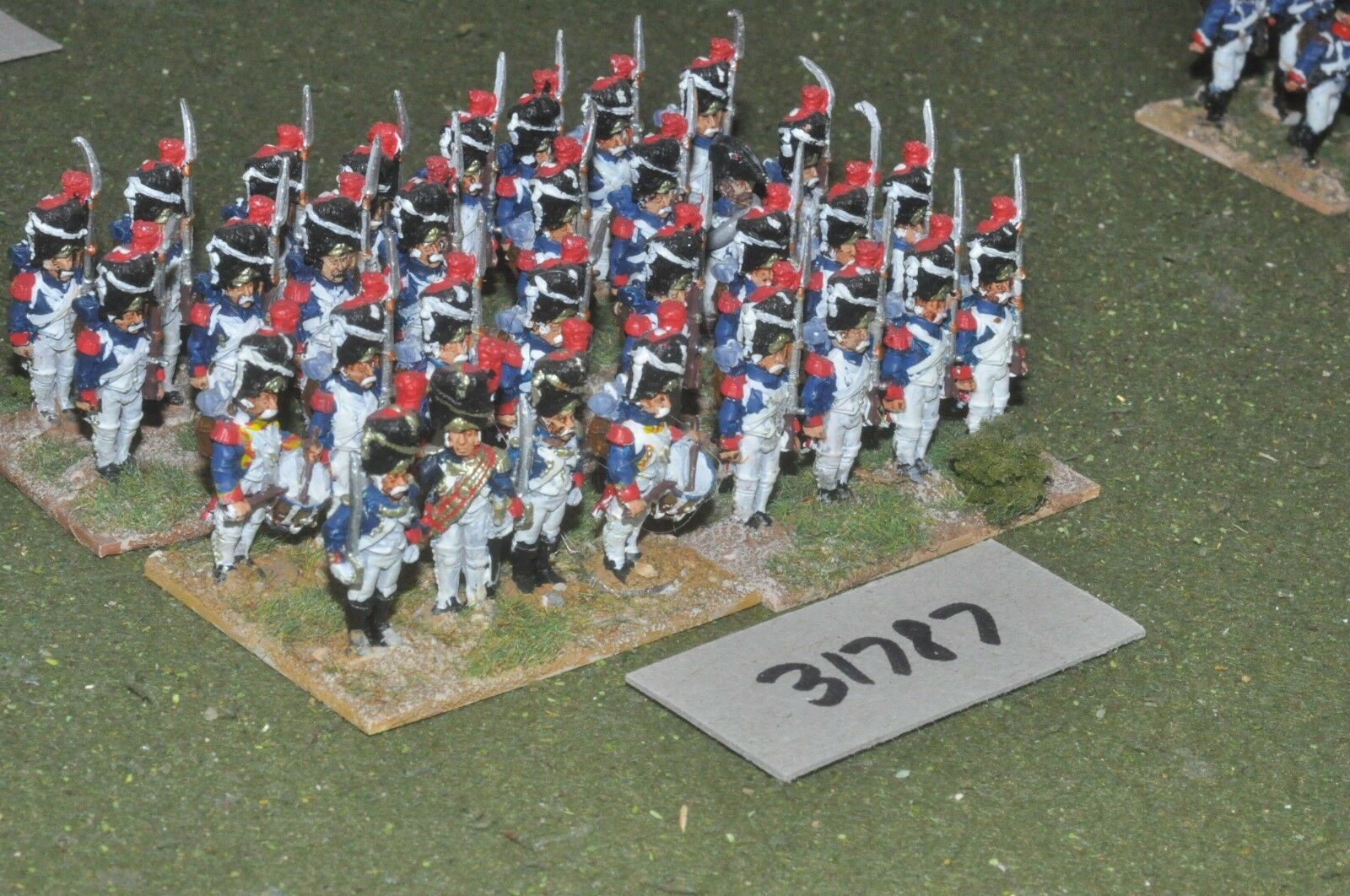 25mm napoleonic   french - guard 32 figures - inf (31787)