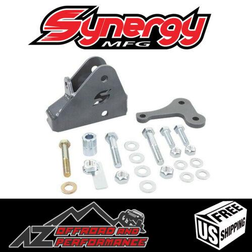 Synergy Mfg Front Track Bar Relocation Bracket for 18-21 Jeep Wrangler JL JLU JT