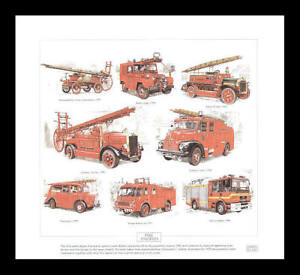 Fire-Engines-Leyland-Cub-Dennis-N-Type-Austin-Art-Print
