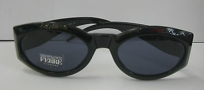 ORIGINAL DESIGNER SUNGLASSES GIANFRANCO FERRE CATEYE CLASSIC BLACK