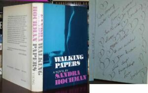Hochman, Sandra WALKING PAPERS : a novel [ Signed 1st ] Signed 1st 1st Edition 1