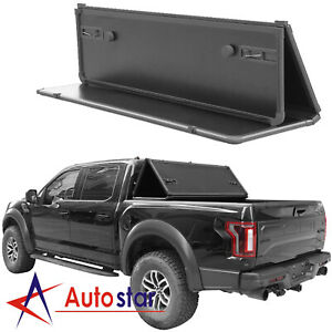 Lock-Hard-Tri-Fold-Tonneau-Cover-Fits-For-2015-2019-Ford-F-150-5-5ft-Short-Bed