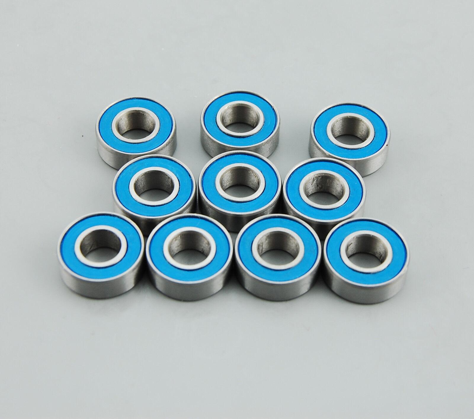 10 unidades RS rodamientos de bolas set 5x11x4mm con precinto de goma subalmacén de onda mr115-2rs