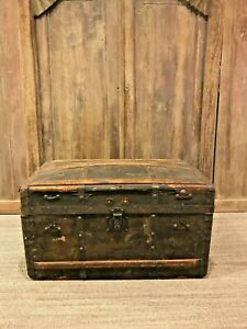 Large Antique Trunk 1900 S American