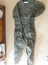 US Army Nomex CVC Combat Crewmen Coveralls Large - Long
