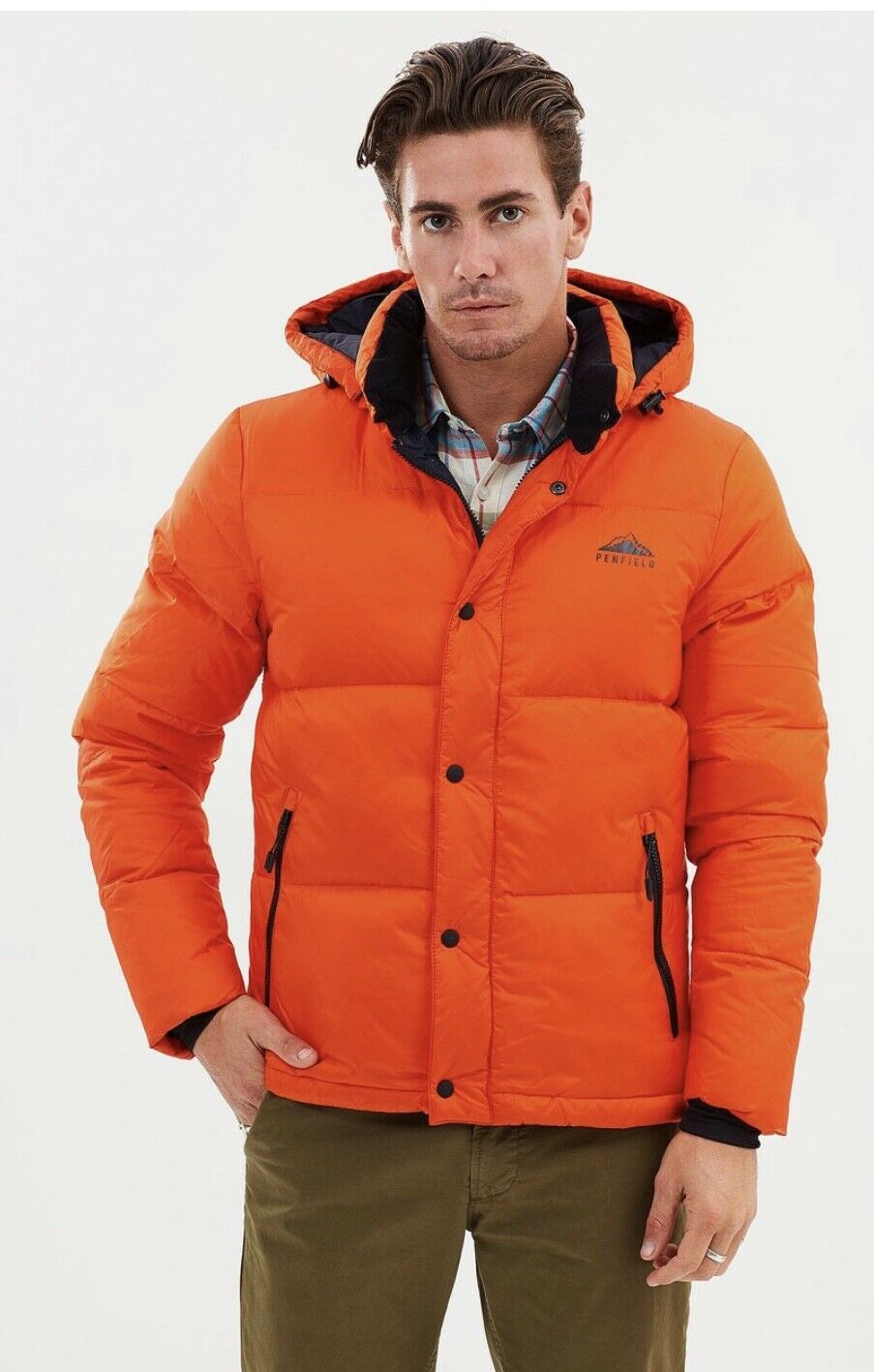 Penfield Equinox Down Filled Parka In orange L