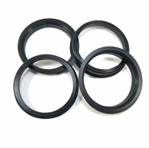 Lugnut Wheel Hub Centric Spacer Rings 70.3mm ID 4x//4pcs Mr 82mm OD