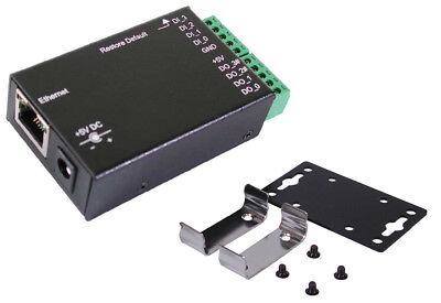 Exsys Ex-6011 Metal Case Ethernet To 8 X Digital I/o Adapter