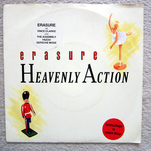 Single-ERASURE-RED-VINYL-ERSTAUFLAGE-RARITAT-1985-MINT
