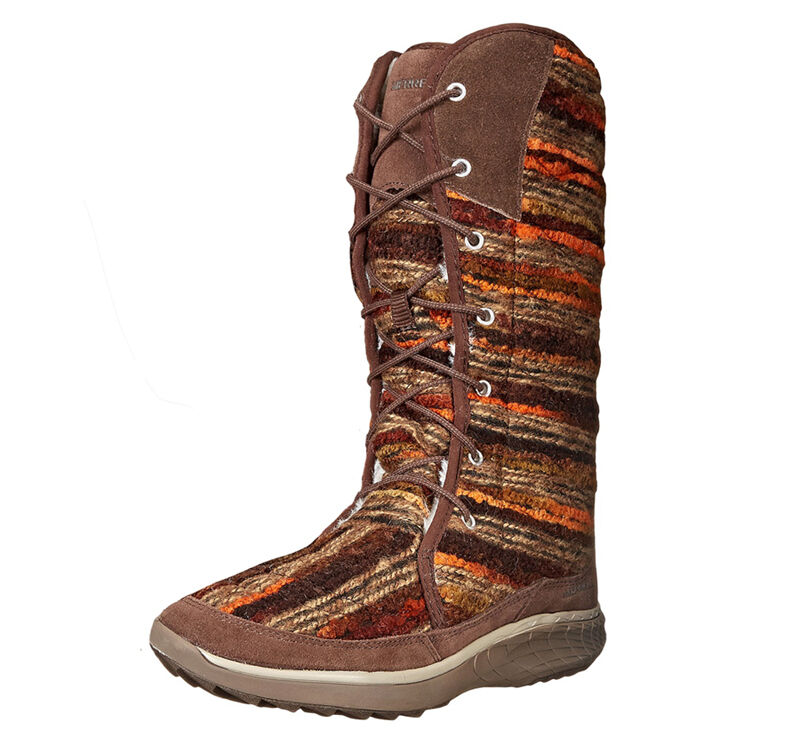 New New New Merrell Pechora Sky Woolen Damens Stiefel Sz. 9.5 78186c