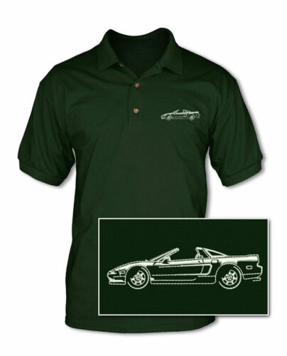 Multiple Colors /& Sizes Honda Acura NSX Coupe 1990-2005 Top Off Polo Shirt