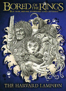 Bored-Of-The-Rings-GOLLANCZ-S-F-Lampoon-The-Harvard-Very-Good-Book
