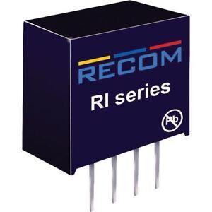Recom-10003772-ri-0505s-P-2W-DC-Convertidor-de-cc-sip4-5v-in-5v-out