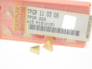 10 pcs. SPG-433 Grade C5//C6 TiN Coated Carbide Inserts