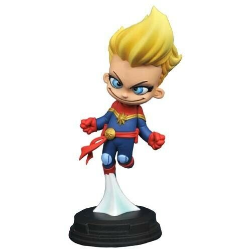 Diamont Select Marvel Statues Animated Captain Marvel limitee a 1250ex Originale