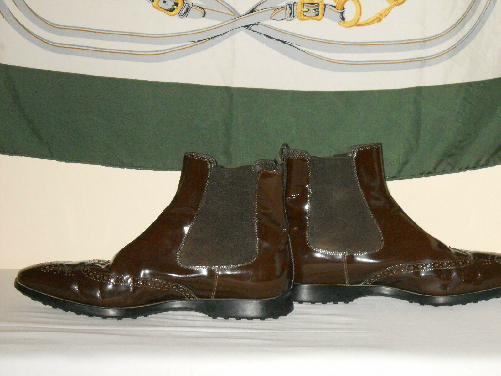 Tods Uomo Uomo Uomo shoes patent leather eurosole 9bbc42