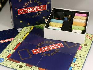 PRL-MONOPOLI-EDIZIONE-EUROPEA-1992-GIOCO-IN-SCATOLA-EG-ART-1595-TOY-COLLECTION