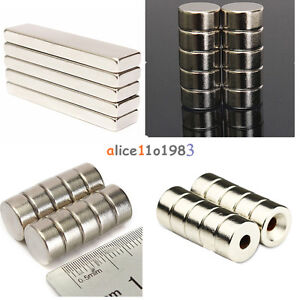 5-10PCS-Super-Round-Strong-Fridge-Magnets-Rare-Earth-Neodymium-Magnet-N50-N52