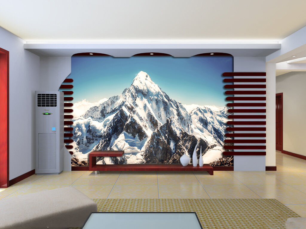 3D Sky Snow Mountain 835 Wallpaper Mural Paper Wall Print Wallpaper Murals UK