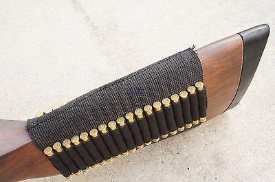 .22 Ruger 10//22 Elastic Butt stock Shell Holder Bullet Ammo High Quality