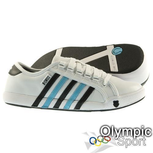 K Swiss Newport Sneaker Uomo UK taglia 6 - 12 02160180 Scarpe classiche da uomo