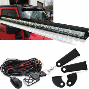 100w 20 cree led light bar wbracket wiring for chevy silverado image is loading 100w 20 034 cree led light bar w mozeypictures Image collections