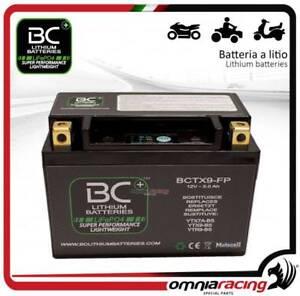 BC Battery - Batteria moto al litio per Suzuki GSXR600 UE 2009>2014