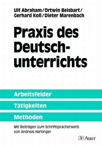 1 von 1 - Praxis des Deutschunterrichts von Ortwin Beisbart, Ulf Abraham, Dieter Marenbach