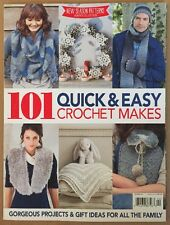 101 Quick & Easy Crochet Makes Projects Gift Ideas Autumn 2014 FREE SHIPPING!