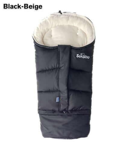 Stroller Pram Sleeping Bag Combi 3in1 polar fleece warm waterproof long Sensillo