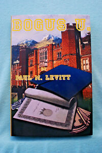 Bogus-U-by-Paul-M-Levitt-Hardbound-Inscribed-by-the-Author