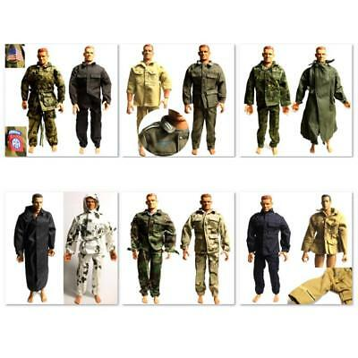 8X Dress clothes for GI JOE 21st Century Soldier 1:6 12/'/' dragon hot toy figure