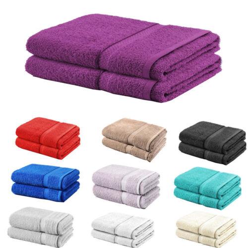 Pack de 2,4 100/% coton Jumbo budget /& Big Bain Sheet Serviette 80cm*140cm