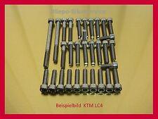 KTM LC4 LC 4  600 620 640 V2A Schrauben Edelstahlschrauben Motorschrauben m.Anl.