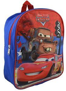 "Black 16/"" Lighting McQueen #95 Large School Boys Backpack"