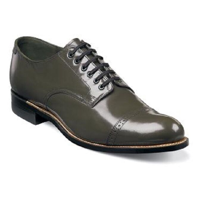 Stacy Adams Mens shoes Madison Biscuit Olive 00012-04