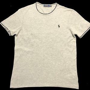 POLO-RALPH-LAUREN-GRIGIO-T-shirt-small-pony-taglia-M