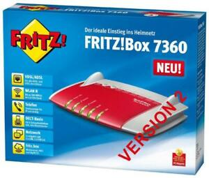 AVM FRITZ!Box 7360 V2  ✔ Wlan Gig Router DSL, Modem  ✔ 2 Jahre Gewährleistung