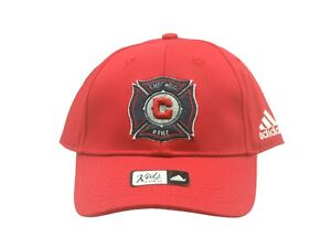 MLS Official Chicago Fire Kids Youth Size (4-7) Hat One Size Fits Most New