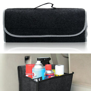CAR VAN 4x4 BOOT TIDY ORGANIZER  STORAGE BAG BLACK