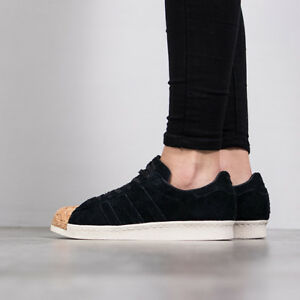 7 Trainers Velvet Cork Superstar 80s Suede Toe Black Adidas Uk Shoes 5 Unisex xnHRw0qxP