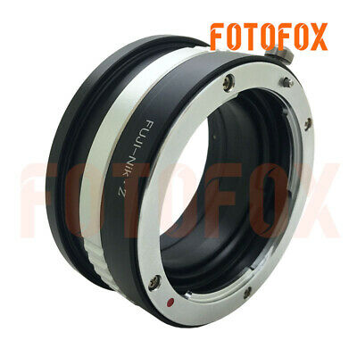Pixco Lens Mount Adapter Ring for Fujifilm AX Lens to Nikon Z Mount Camera Nikon Z6 Nikon Z7