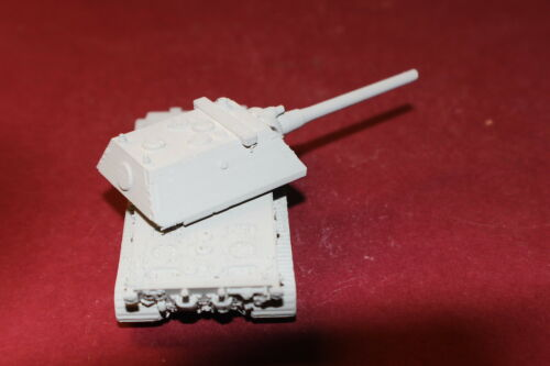 1//72ND SCALE 3D PRINTED WW II GERMAN E-100 KRUPP TURRET NO  SKIRTS
