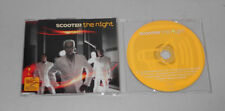 Single CD Scooter - The Night  2003  5 Tracks + Video sehr guter Zustand