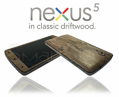 Textured Wood Effect Skin For LG NEXUS 5 Wrap Cover Sticker Protector Decal Case