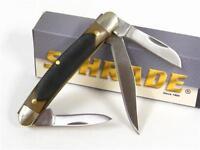 Schrade Delrin Old Timer Junior Knife 3 Blades 108ot