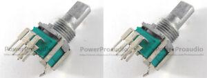 2pcs-Rotary-Pot-DCS1108-Variable-Resistor-FOR-Pioneer-DJM350-DJM-350