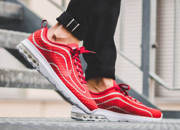 NIKE AIR MAX MERCURIAL '98 Trainers - Casual Gym Fashion Red - Trainers () 6c4975